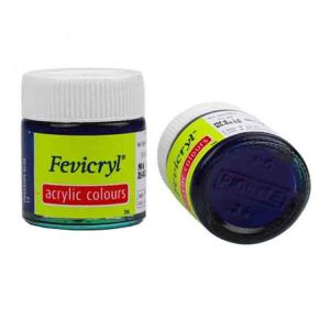 Fevicryl Acrylic Colour Prussian Blue 15ml P19