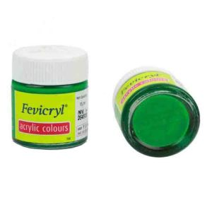 Fevicryl Acrylic Colour Light Green 15ml P12