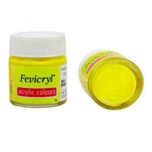 Fevicryl Acrylic Colour Lemon Yellow 15ml P11