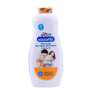 Kodomo Baby Powder Natural Soft Protection 3y+, 400gm KDM 721
