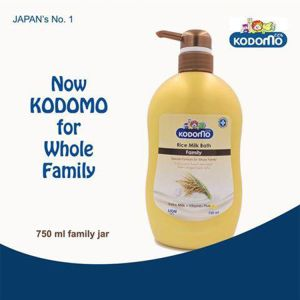 Kodomo Family Bath (Rice Milk), 750ml KDM 445