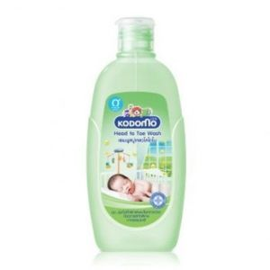 Kodomo Hair and Body Wash 0m+(Head to Toe), 100ml KDM 773