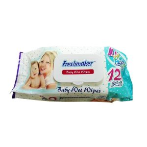 FreshMaker Baby wipes (Cover)- 120Pcs