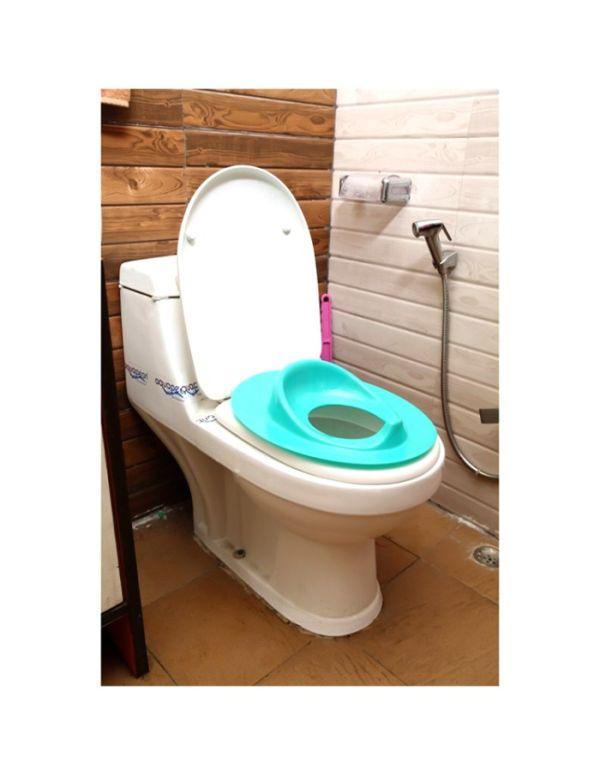 Farlin Baby Toilet Seat, Green Color, Taiwan BF-904-G 3