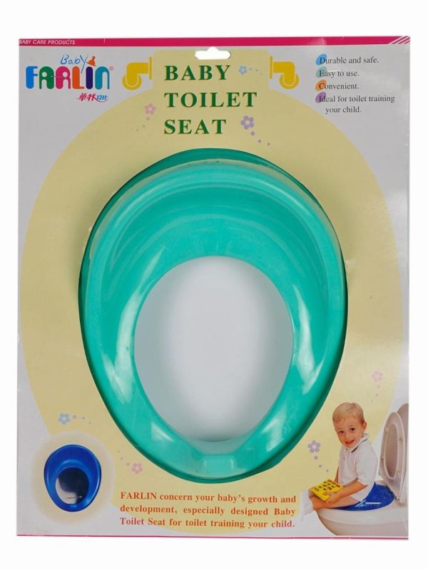 Farlin Baby Toilet Seat, Green Color, Taiwan BF-904-G 2
