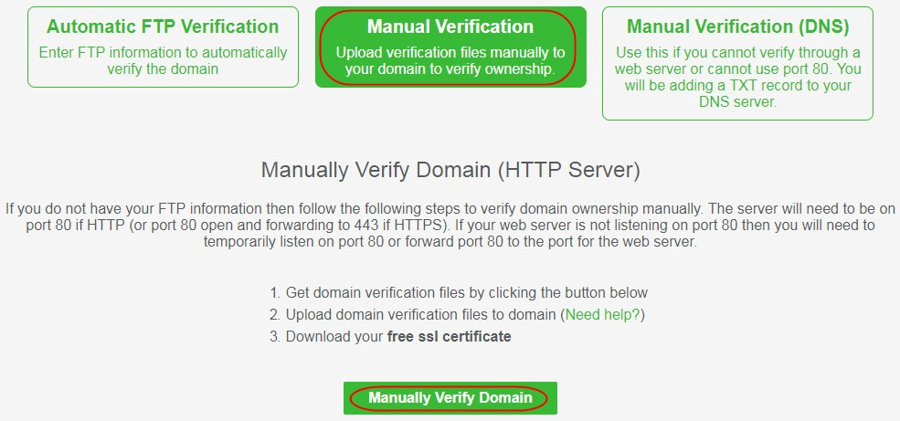 How To Create Free Ssl Certificate From Sslforfree Pojoktutorial