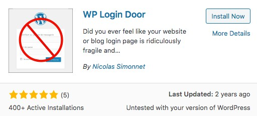 WP Login Door