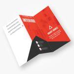 Tri Fold Brochure Design PSD