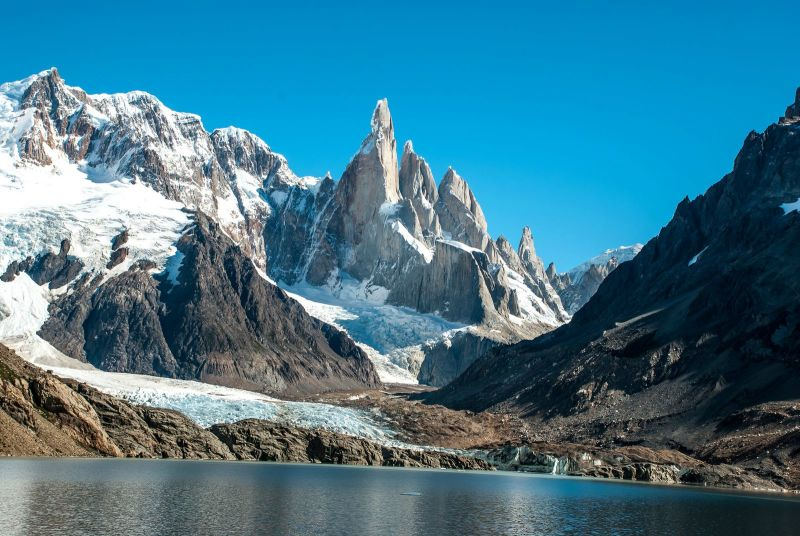 climbing at Cerro Torre