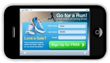 Creating High Converting Mobile Landing Pages 19