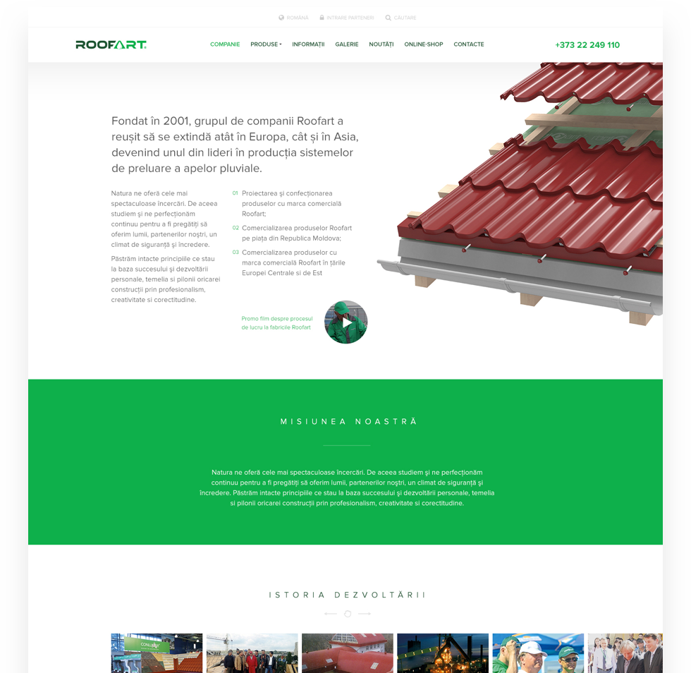 RoofArt Group was founded in 2001 and it managed to expand in Europe, becoming one of the leading companies in manufacturing rainwater systems.