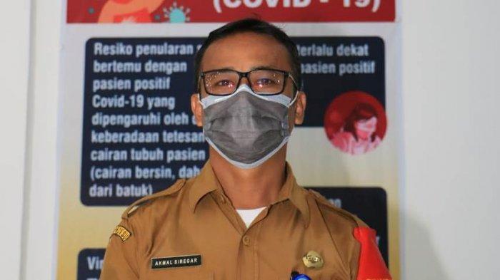 Akmal Siregar selaku Humas Satgas Covid-19 Kabupaten Simalungun