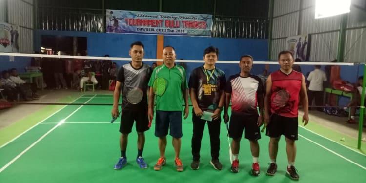 Pembukaan Turnamen Dawaslu Cup-I Badminton