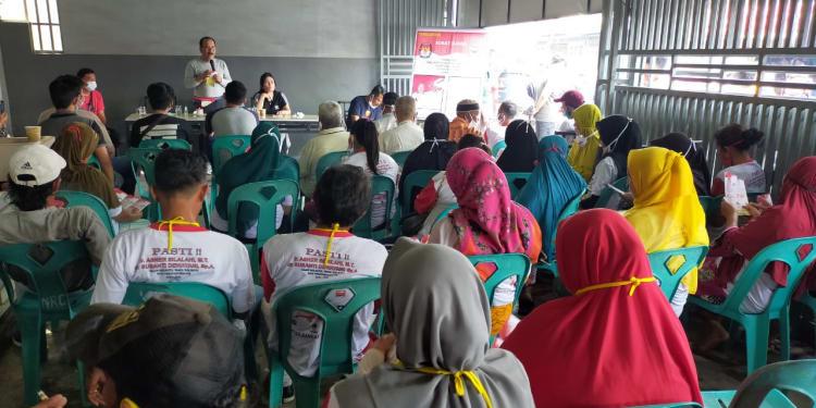 Walikota Pematangsiantar Ir Asner Silalahi MT Menyapa Warga Kelurahan Baru, Kecamatan Siantar Utara, Kota Pematangsiantar