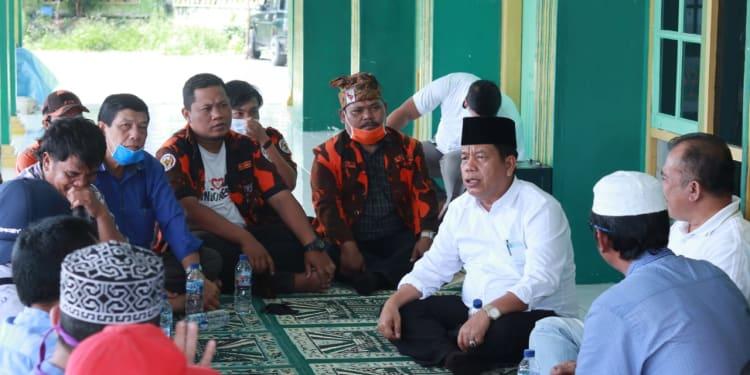 RHS saat Dialog dengan Warga di Sidamanik