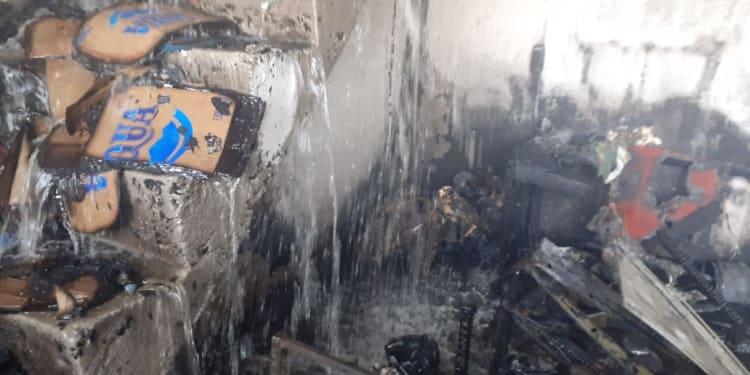 Rukp Terbakar di Jalan Sisingamaraja, Depan Loket ALS, Pematangsiantar