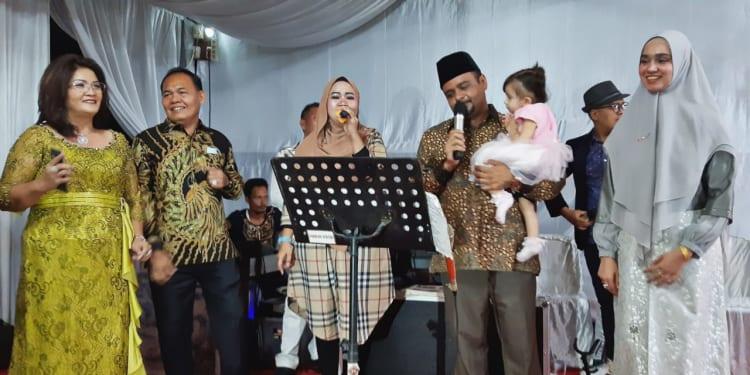 Hasim-TPS di Pernikahan Putra Badri Kalimantan