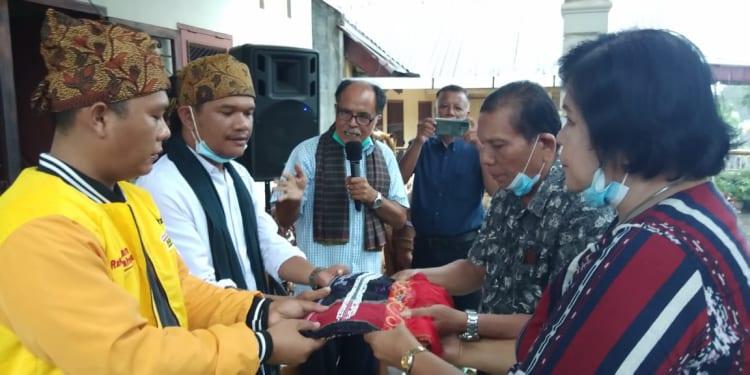 Dukungan daridari Parsadaan Pomparan Raja Simangunsong Anak dan Boru (PPRSAB) Kota Pematangsiantar Kabupaten Simalungun