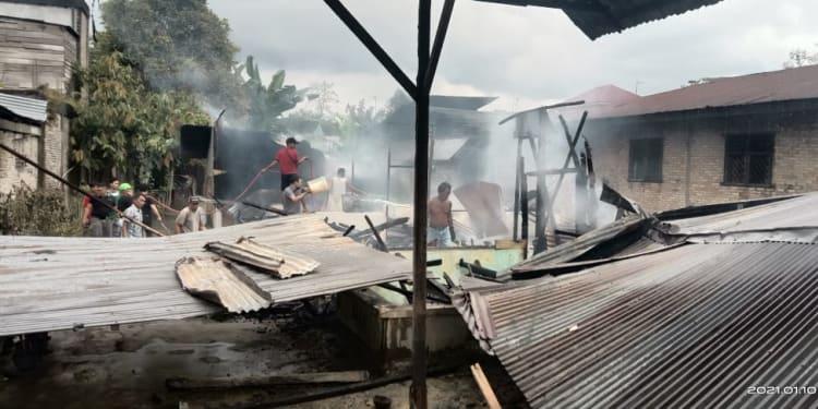 Rumah Milik Suratmi yang Ludes Terbakar