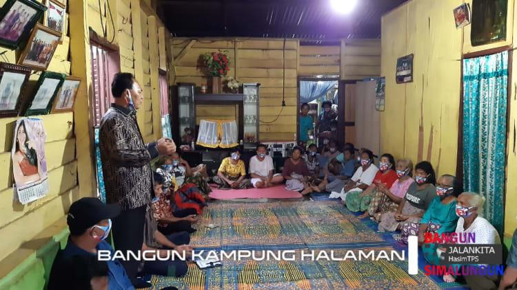 TPS Bersama Warga Dusun 2 Cinta Rakyat, Nagori Tanjung Pasir, Kecamatan Tanah Jawa, Kabupaten Simalungun
