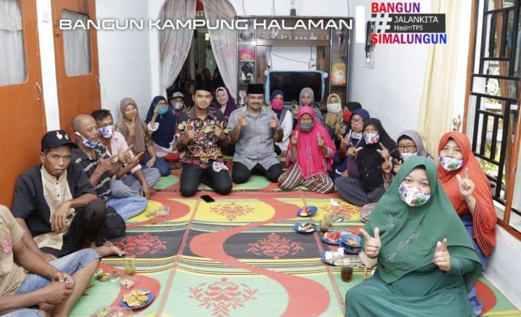 Bang Hasim Kunjungi Nagori Perlanaan, Kecamatan Bandar