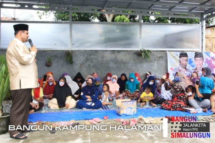 - Calon Bupati Simalungun nomor urut 2, H Muhajidin Nur Hasim Bersilaturahmi dengan Warga Nagori Silaumalaha, Kecamatan Siantar