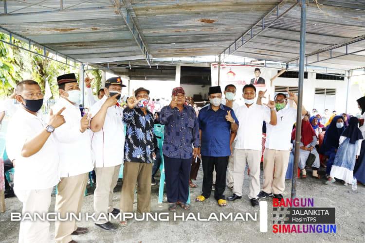 Calon Bupati Simalungun. H. Muhajidin Nur Hasim saat Konsolidasi dan Tatap Muka