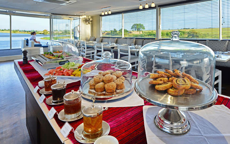 Breakfast Bar, Zambezi Queen - AmaWaterways