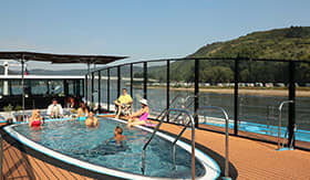 Sun Deck Pool aboard AmaBella