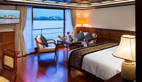Twin Balconies stateroom on AmaDara