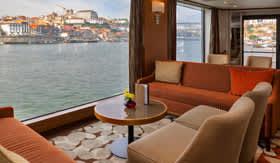 Lounge aboard AmaDouro