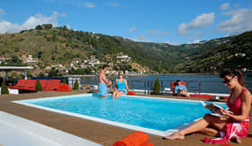 Sun Deck and Pool aboard AmaDouro