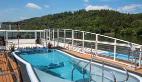 Sun Deck Pool aboard AmaLea
