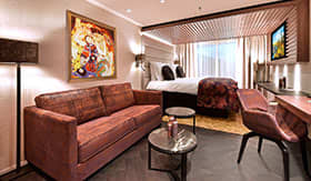 Luxurious Suites aboard AmaMagna