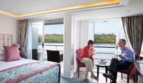 Twin Balconies aboard AmaReina