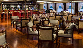 Main Lounge aboard AmaWaterways
