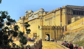 Amber Palace in Jaipur