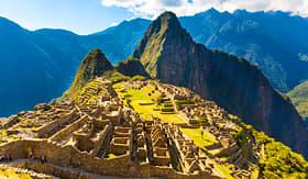 Avalon Waterways Machu Picchu Incan Ruins Peru