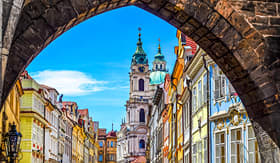 Avalon Waterways old town Prague Czech Republic