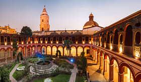 Avalon Waterways Santo Domingo monastery Lima Peru