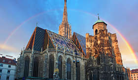 Avalon Waterways Stephen Cathedral Vienna Austria