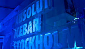 Azamara Club Cruises Absolut Ice Bar of Stockholm