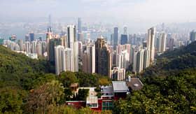 Azamara Club Cruises view of Hong Kong China