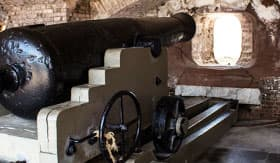 Cannon in Fort Sumter