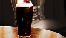 Azamara Club Cruises irish black beer shot inside a Dublin pub