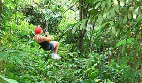 Azamara Club Cruises - Jungle Zipline Tour
