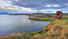 Aazamara Club Cruises Myvatn Lake in Iceland