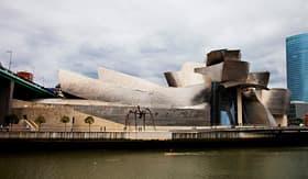 Azamara Club Cruises outside view of the Guggenheim Museum