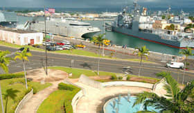 Visit the site of Pearl Harbor