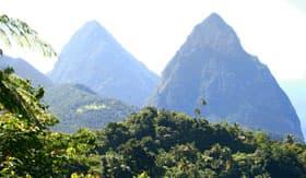 Azamara Club Cruises - Pitons of St. Lucia